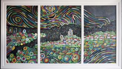 Photo of Unha mostra reúne en Viana a obra pictórica realizada por Piquico no confinamento