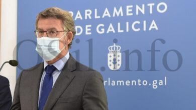 """Photo of Feijóo: """"Estamos traballando co comité clínico para reaxustar o protocolo do inicio de curso"""""""