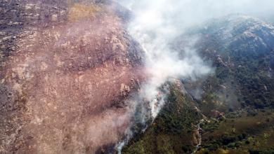 Photo of Extinguido o incendio forestal de Manín (Lobios)
