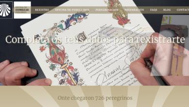 Photo of A Oficina do Peregrino implanta un sistema online de axuda á obtención da Compostela