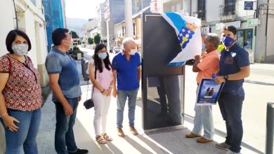 Photo of Quiroga conta dende hoxe con mobiliario urbano de información