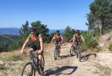 Photo of Unha vintena de bikers coroan o Pía Páxaro (Quiroga)
