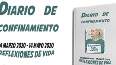 """Photo of O valdeorrés Javier García presentará o seu libro """"Diario de confinamiento"""" na Rúa"""