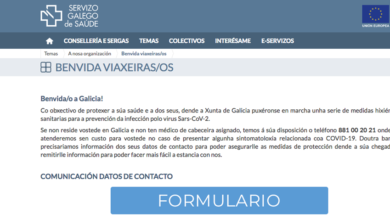 Photo of Sanidade inclúe a Madrid no listado de territorios de obrigado rexistro para visitantes a Galicia