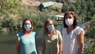 Photo of Medio Ambiente anuncia unha multa de 35.000 euros a Adif polos vagóns caídos ao Sil