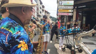 Photo of A charanga TDB pecha as actuacións musicais das Festas de Verán da Rúa