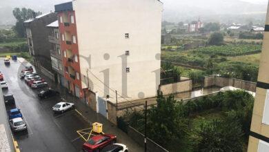 Photo of A treboada tamén descarga na Rúa