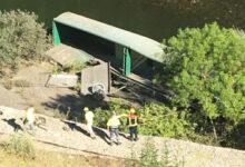 Photo of Retiran os vagóns do tren descarrilado en Sobradelo para poder desguazalos
