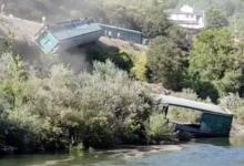 Photo of A CHMS estuda sancionar a Adif polo vagón caído ao río en Sobradelo (Carballeda de Valdeorras)