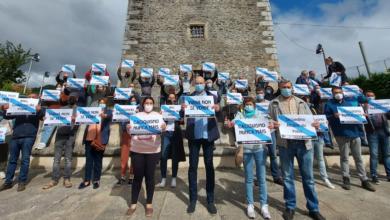 Photo of Acto simbólico do BNG en Viana contra a moción de censura neste Concello