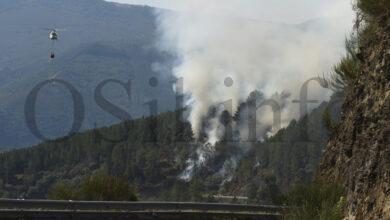 Photo of O incendio de Hospital (Quiroga) afecta a unhas 30 hectáreas