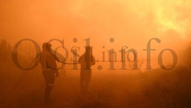 Photo of A provincia, golpeada polo lume cunha ducia de incendios activos