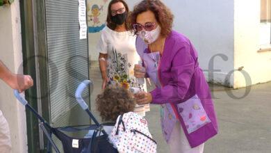 Photo of Ilusión, nervios e medidas anti-Covid nun inusual inicio de curso no CEIP Otero Pedrayo de Viloira