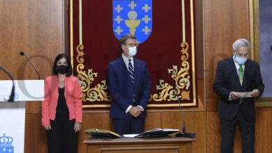 Photo of A cuarta toma de posesión de Feijóo como presidente da Xunta, en imaxes