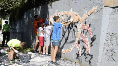 Photo of Un novo mosaico colectivo para o río Sil no Barco, co selo de Chere
