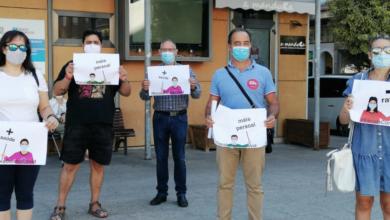"""Photo of Concentración no Barco en defensa dun """"ensino presencial con seguridade"""""""