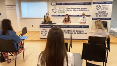 Photo of Inicio de curso para os estudantes do grao de Enfermería de Ourense