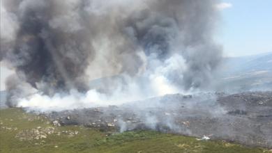Photo of O incendio da Esculqueira (A Mezquita) afecta a unhas 160 hectáreas