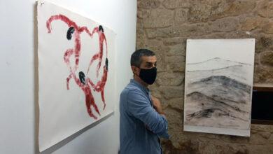 Photo of O artista ourensán Xosé Poldras expón na Casa dos Poetas de Celanova