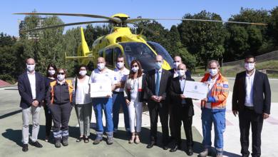 Photo of Conmemórase o 30 aniversario do transporte sanitario urxente aéreo en Galicia