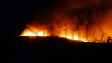 Photo of Tres incendios activos en Manzaneda: en Cernado, Paradela e San Martiño