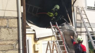 Photo of Incendio nunha vivenda en Sobrado (Trives)
