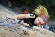 Photo of A deportista do Club Asesou, Iris Gutiérrez, consegue o máximo grao alcanzado por unha escaladora galega