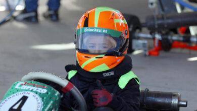 Photo of O barquense Leo Pérez mantense entre os primeiros no galego de karting alevín