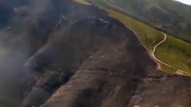 Photo of Extinguidos os incendios de Montederramo, Manzaneda, Chandrexa, Vilar de Barrio, Muíños e Lobios