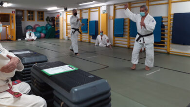Photo of Novos Cinto Negro e ascensos de grao no Ourense Judo Club Marbel