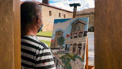 Photo of O III Concurso de Pintura ao Aire Libre reúne a 11 participantes no entorno da Acrópole de Monterrei