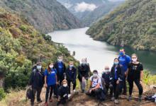 Photo of Xoves voluntarios colaboran en tarefas de preservación ambiental da contorna da Ribeira Sacra