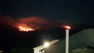 Photo of Extinguido o incendio forestal de Vilarmeao (Viana do Bolo)