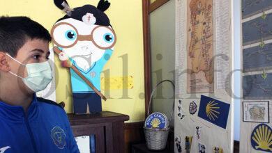 """Photo of Unha mostra sobre o Camiño de Santiago para celebrar """"Holywins"""" no colexio Pablo VI-Fátima da Rúa"""
