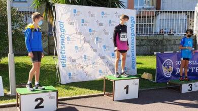 Photo of Pablo García, do Adas, campión galego Sub14 no triplo