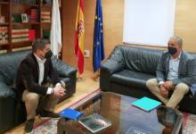 Photo of O alcalde de Vilamartín plantéxalle ao delegado da Xunta en Ourense temas de abastecemento, infraestruturas e turismo