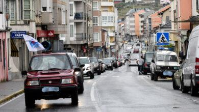 Photo of A caravana reivindicativa, cun cento de vehículos, chega á Rúa e conclúe coa lectura dun manifesto