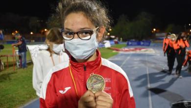 Photo of Dous ouros e unha prata para Xiana Pungín no Campionato de España de promesas paralímpicas