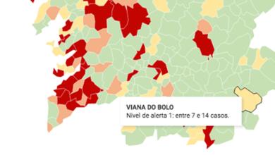 Photo of Viana baixa a situación de alerta amarela no mapa epidemiolóxico do Sergas