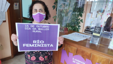 Photo of Río celebra o Día da Muller Rural con fotos e mascarillas violetas