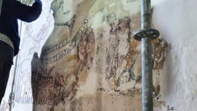 Photo of Nova vida para as pinturas renacentistas da Igrexa de San Xiao de Lobios (Sober)