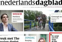 Photo of A iniciativa de Río de crear un centro de teletraballo, nun xornal dos Países Baixos