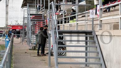 Photo of Novas vías de acceso ás bancadas no Estadio Municipal de Calabagueiros, no Barco