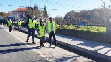 Photo of Constrúese unha senda peonil na estrada OU-540, en Santa Comba de Bande