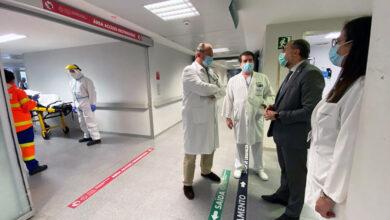 Photo of Visita do conselleiro de Sanidade ao Hospital Universitario de Ourense