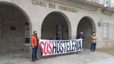 """Photo of A hostalaría de Verín sae á rúa ao berro de """"Queremos traballar"""""""