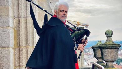 "Photo of O alcalde de Lubián, ""Gaiteiro da Catedral"" de Ourense"