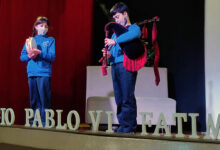 Photo of Celebrando con música a festividade de Santa Cecilia, no colexio Pablo VI-Fátima