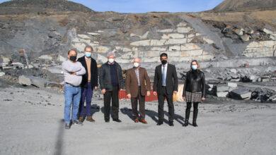 Photo of O delegado da Xunta en Ourense visita o sector valdeorrés da lousa