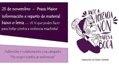 Photo of Viana do Bolo presenta o seu programa para conmemorar o 25N